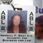 Lynn Huggins from Merril F. West High School