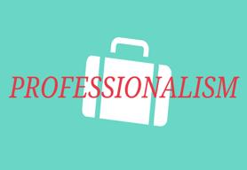 Professionalism Lesson Plans