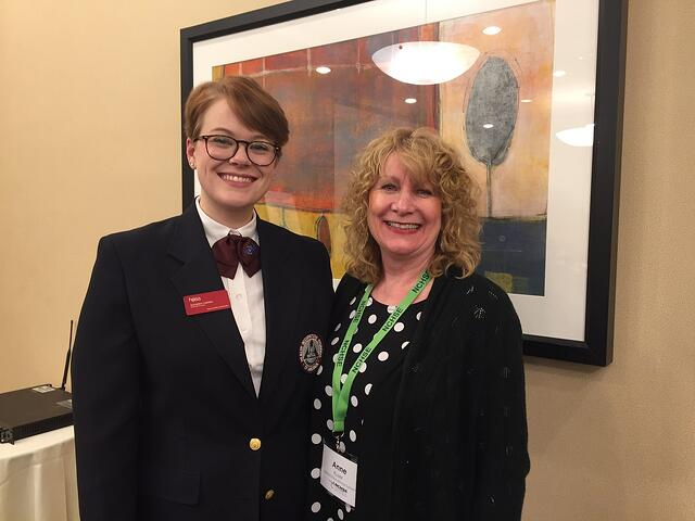 Anne_with_HOSA_President_Elizabeth_Carnegie.jpeg
