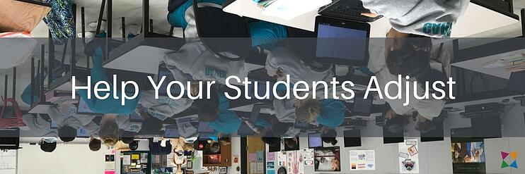 Help students adjust to the flipped classroom