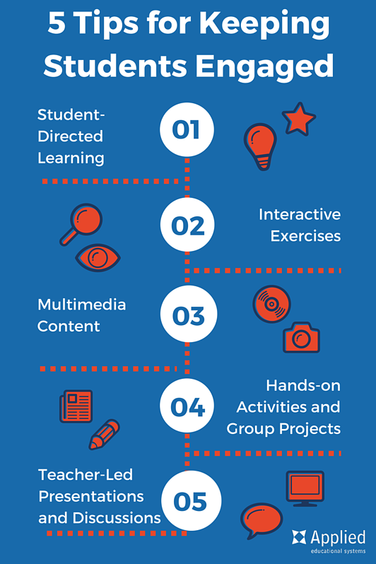 5 Tips for Keeping Students Engaged