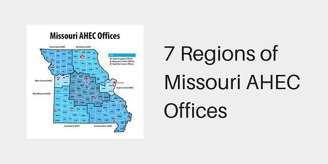 7 Regions of Missouri AHEC Offices