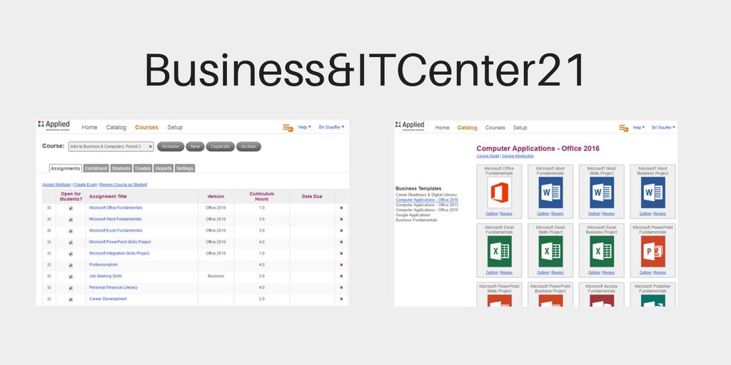 Business&ITCenter21 Computer Curriculum