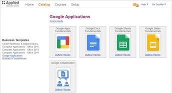 Business&ITCenter21 - Google Applications Curriculum