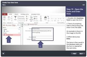 Create a Form in Microsoft Access