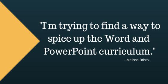 powerpoint lesson plans