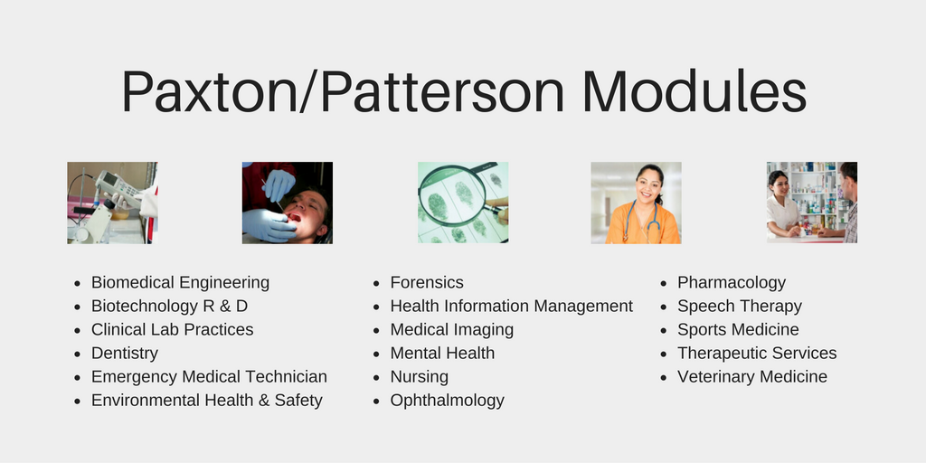 Paxton Patterson Health Science Curriculum Modules