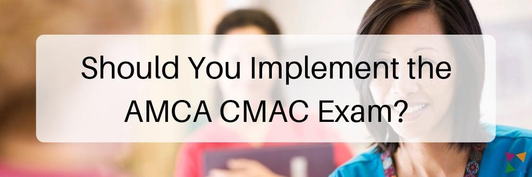amca-cmac-certification-exam-implement