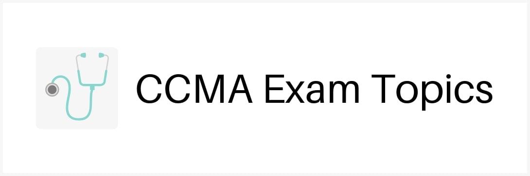 ccma-exam-topics