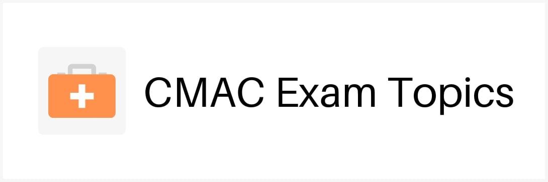cmac-exam-topics