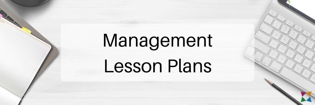 high-school-business-lesson-plans-management