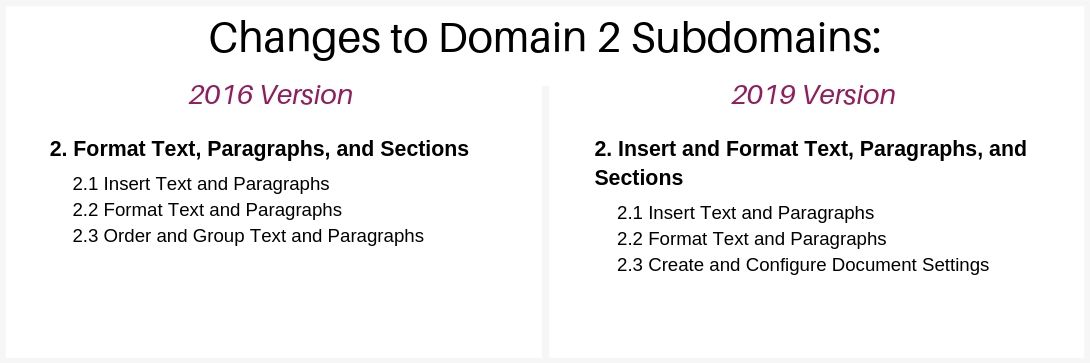 mos-word-associate-2019-exam-structure-domain-2