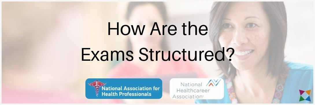 nahp-nrcma-nha-cmaa-exam-structure