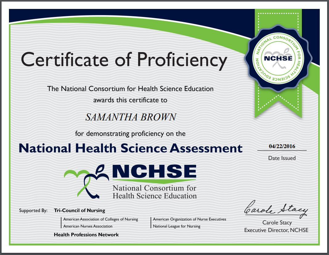 nchse-certificate