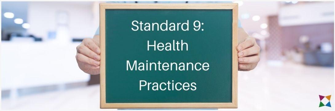 nhss-9-health-maintenance-practices