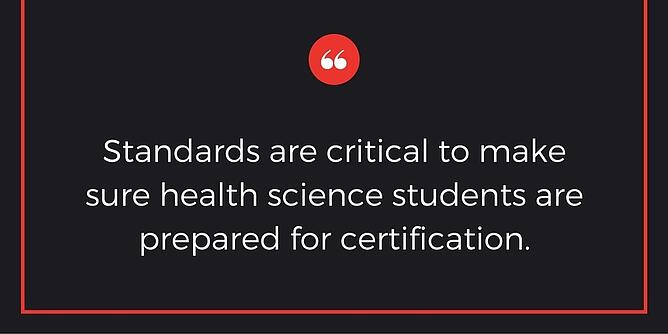 How to keep up with changing standards in your health science curriculum