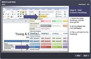 Microsoft Excel lesson plans