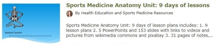 sports-medicine-anatomy-unit
