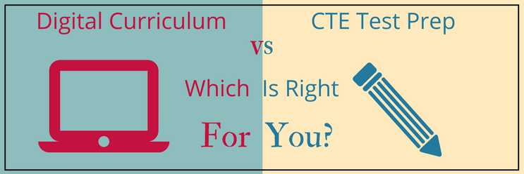 7 Differences Between Digital Curriculum & Test Prep for CTE