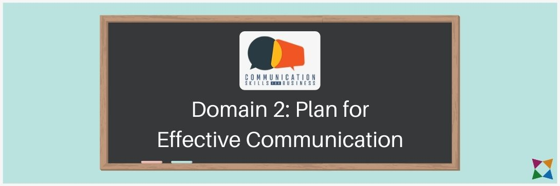 plan for effective communication