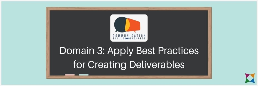 best practices for creating communication deliverables