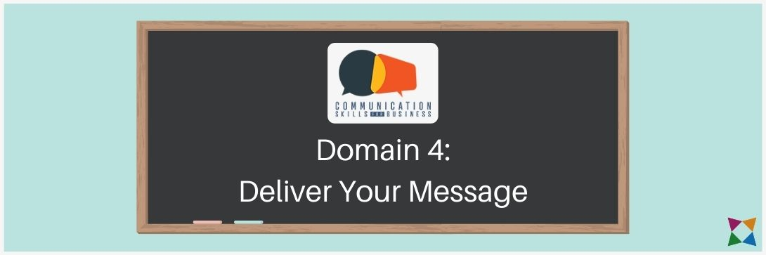 deliver a message