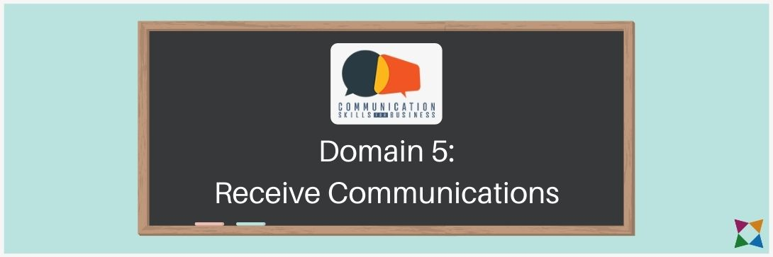 receive communications