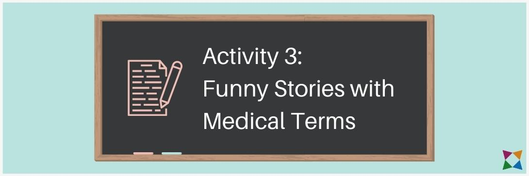 medical terminology stories
