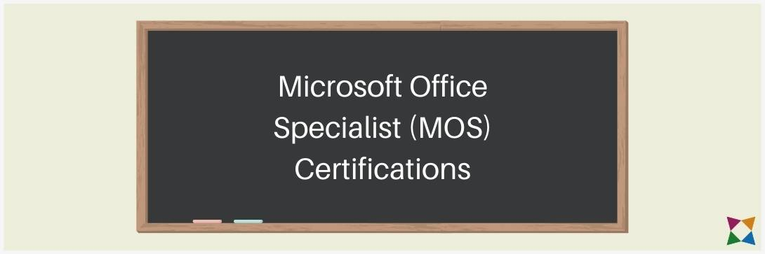 Microsoft Office Specialist MOS