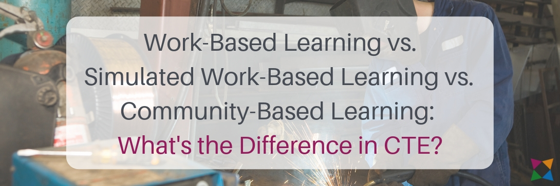 Work-Based Learning vs. Simulated Work-Based Learning vs. Community-Based Learning: What's the Difference in CTE?